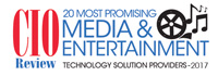 20 Most Promising Media & Entertainment Technology Solution Providers - 2017